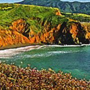 Big Sur California Coastline Poster