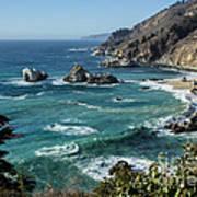 Big Sur Coast From Julia Pfeiffer Burns Poster