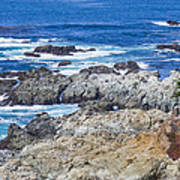 Big Sur Coastline Poster