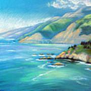 Big Sur Serenity Poster
