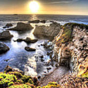 Big Sur Sunset Poster by Shawn Everhart