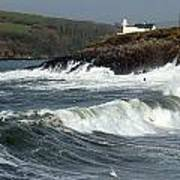 Big Swell In Dingle Bay Poster