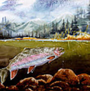Big Thompson Trout Poster