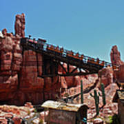 Big Thunder Mountain Walt Disney World Poster