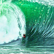Big Wednesday At The Wedge Poster