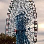 Big Wheel Keep On Turning Poster