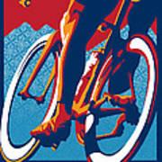 Bike Hard Poster