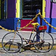 Bike La Boca Poster