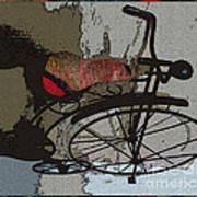 Bike Seat View Poster