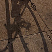 Bike Shadow   #5910 Poster