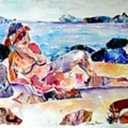 Bikini In Paradise Poster