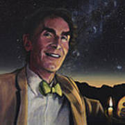 Bill Nye - A Candle In The Dark Poster