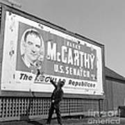 Billboard For Senator Joe Mccarthy 1948 Poster