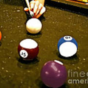 Billiards Art - Your Break -art 8 Poster