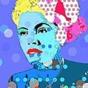 Billie Holiday Poster by Ricky Sencion