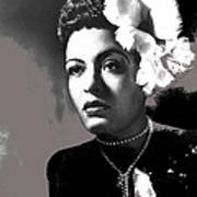 Billie Holiday Singer Song Writer No Date-2014 Poster