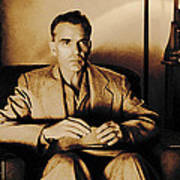 Billy Bob Thornton as Ed Crane in the film The Man Who Wasn t There Poster