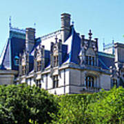 Biltmore House In Summer Poster