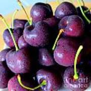 Bing Cherries Poster