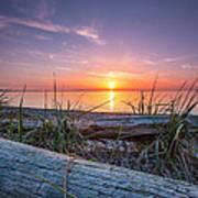 Birch Bay Sunset Poster