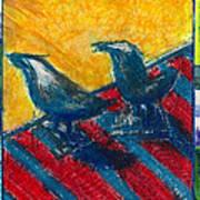 Bird Collage Poster