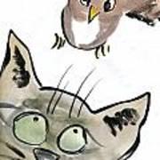 Bird Poster by Ellen Miffitt