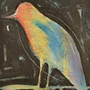 Bird In Gilded Frame Sans Frame Poster