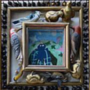 Bird Shadows - Framed Poster