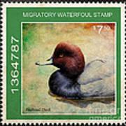 Bird Stamp Poster
