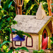 Birdhouse Church Poster