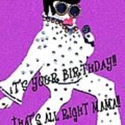 Birthday Mama Poster