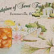 Birthplace Of Sweet Tea Poster