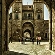 Bisagra Gate And Courtyard Poster