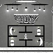 Black And White Decor Poster