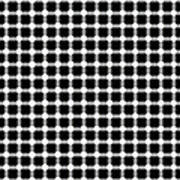 Black And White Dots Poster by Daniel Hagerman