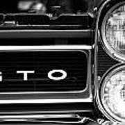 Black And White Gto Poster
