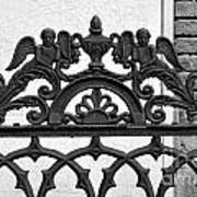 Black And White Ironwork Poster by Alys Caviness-Gober