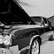 Black And White Olds Poster