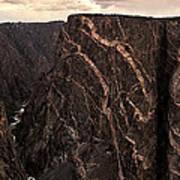 Black Canyon National Park In Colorado Poster