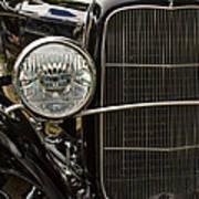 Black Ford Rod Poster