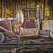Black Hills Gold Truck Sign Poster