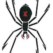 Black Widow Poster by Earl ContehMorgan