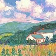 Blacksburg Clouds Poster