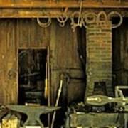 Blacksmith Anvil Poster