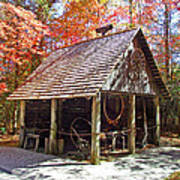 Blacksmith Shop In The Fall Poster