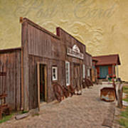 Blacksmith Shop Poster