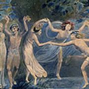 Blake: Fairies, C1786 Poster