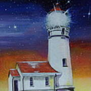Blanco Lighthouse Poster