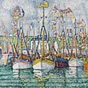 Blessing Of The Tuna Fleet At Groix Poster