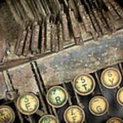 Blick 90 Typewriter Poster
